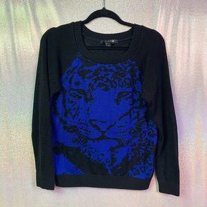 Forever 21 | Crew Neck Cheetah Sweater